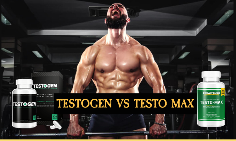 Testogen vs Testo Max - what is the best testosterone booster on the market?